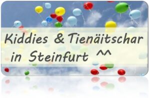 Read more about the article Burg-Steinfurt Stiftung 10.000€ für Kiddies & Tienäitschar ^^
